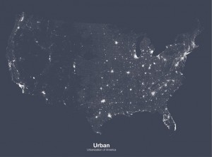 Minimal Maps by Michael Pecirno Will Change How You View The United States|Photographist