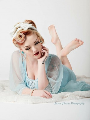 Pajama Party Pinup – Savanna May by SassyChassis