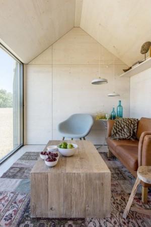Portable dwelling ÁPH80 developed by Ábaton Arquitectura