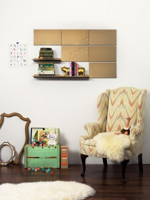 Riveli Shelving Luxe Series by Lake and Wells