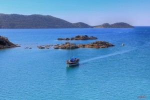 The Blue Turkish Mediterranean coast – Photography Wallpapers