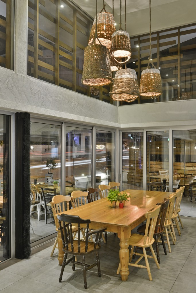 The Shop Souflaki Etc by M.O.B Interior Architects