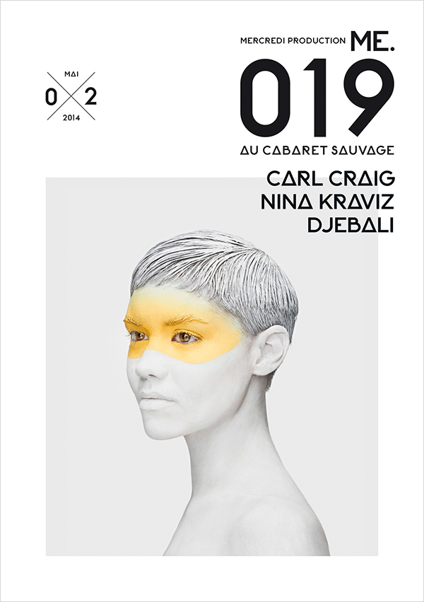 ME.019  by Carl Craig and Nina Kraviz Djebali