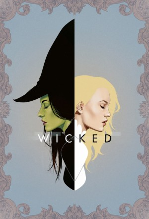 Wicked | Frame Art Print by Andre De Freitas
