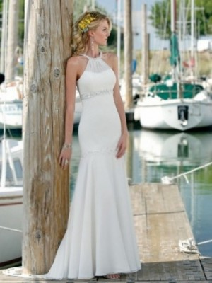 Gorgeous beach wedding dress from adoringdress.co.za