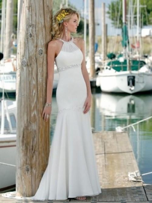 Gorgeous beach wedding dress from adoringdress.co.za