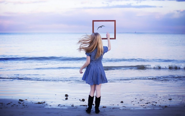 Blonde Girl Fine Art Photograph – Photography Wallpapers