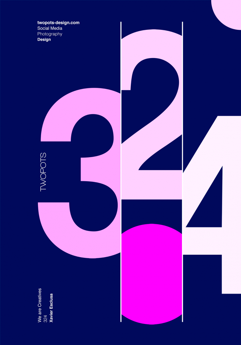 Poster by Xavier Esclusa / Twopots Design Studio