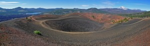 Cinder Cone Crater Panorama – Photography Wallpapers