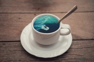 Coffee Cup Manipulations by Victoria Siemer