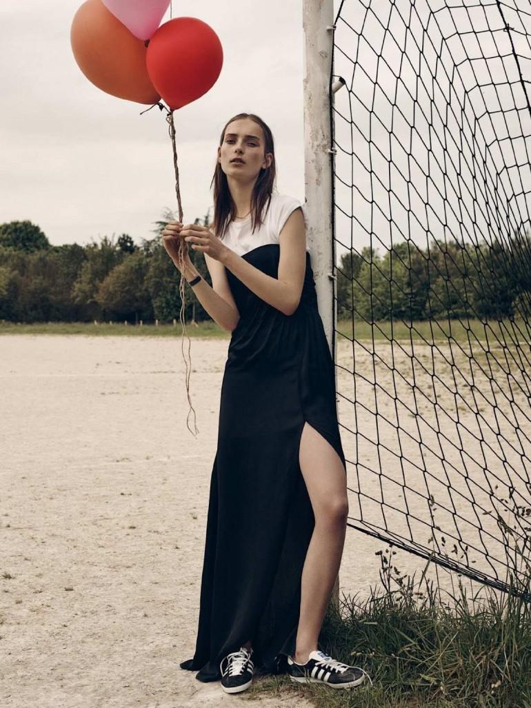 Julia Bergshoeff by Gregory Harris