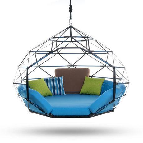 Kodama Zomes hanging seats or beds