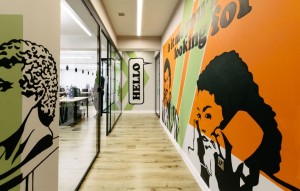 New coworking offices WeWork in London – by Oktra