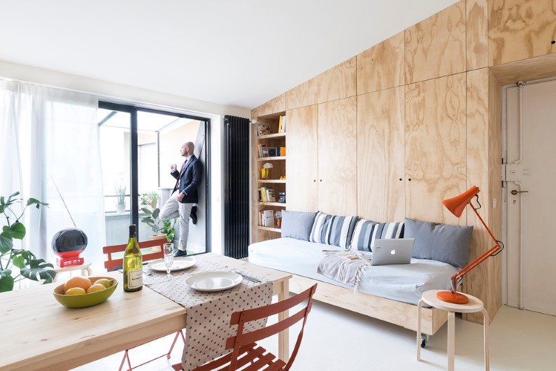 OCS Batipin Flat by StudioWok – 28 sqm apartment in Milan