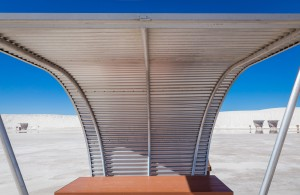 Picnic shelter at White Sands National Park – Photography Wallpapers