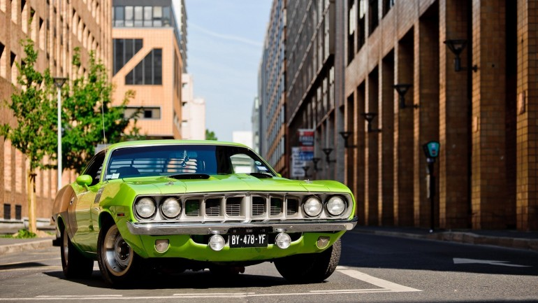 Plymouth Barracuda – Photography Wallpapers