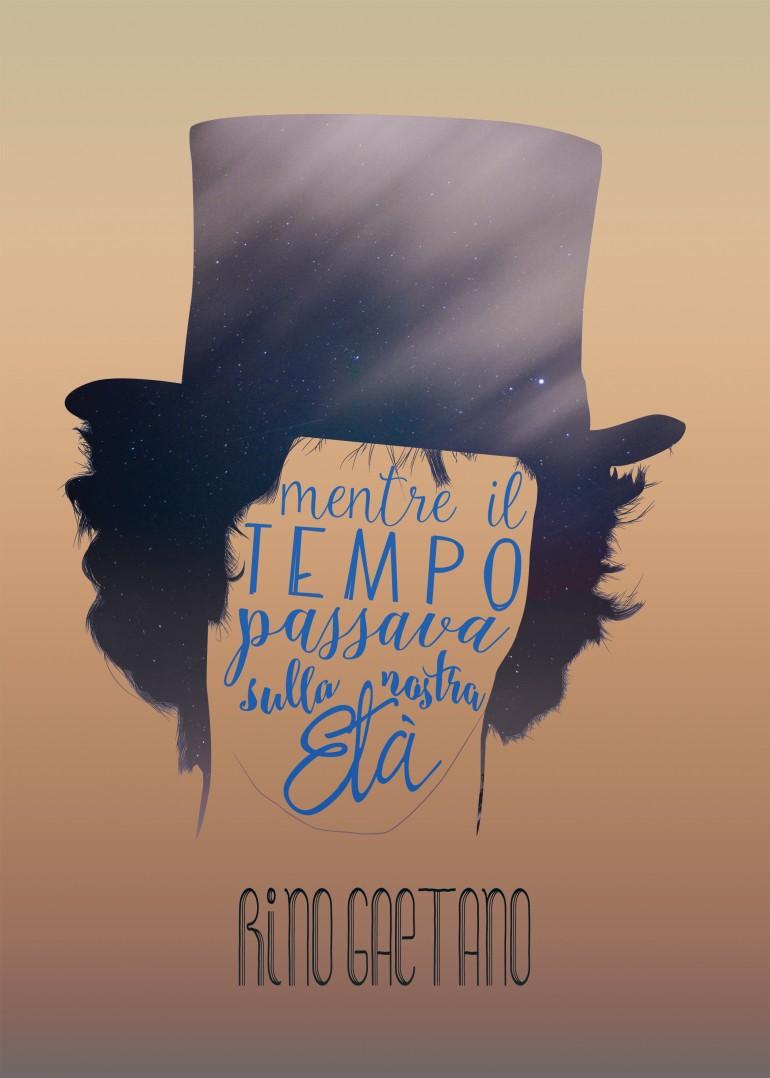 Rino Gaetano Typography