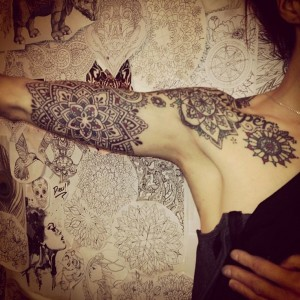 Saskia | Third Eye Tattoo | Mandala tatoos | Pinterest