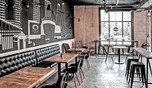 The Cold Pressery with healthy and raw-inspired interior environment