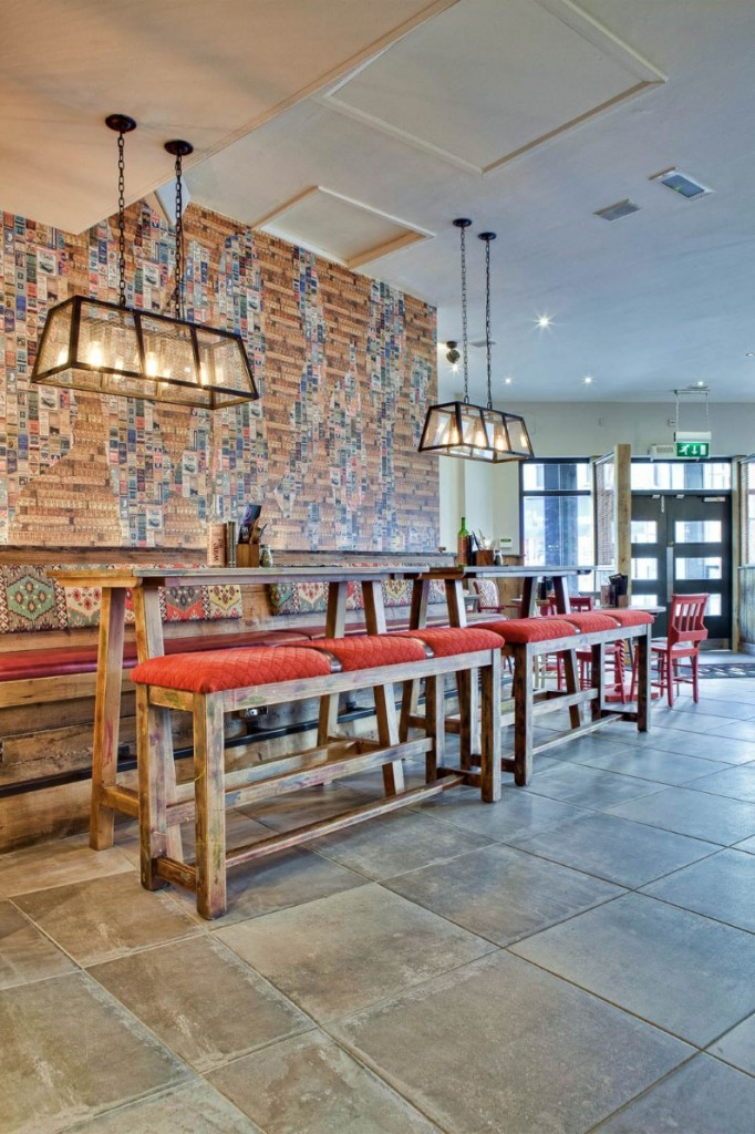 The Crafty Pig Restaurant reflect street style of Manchester