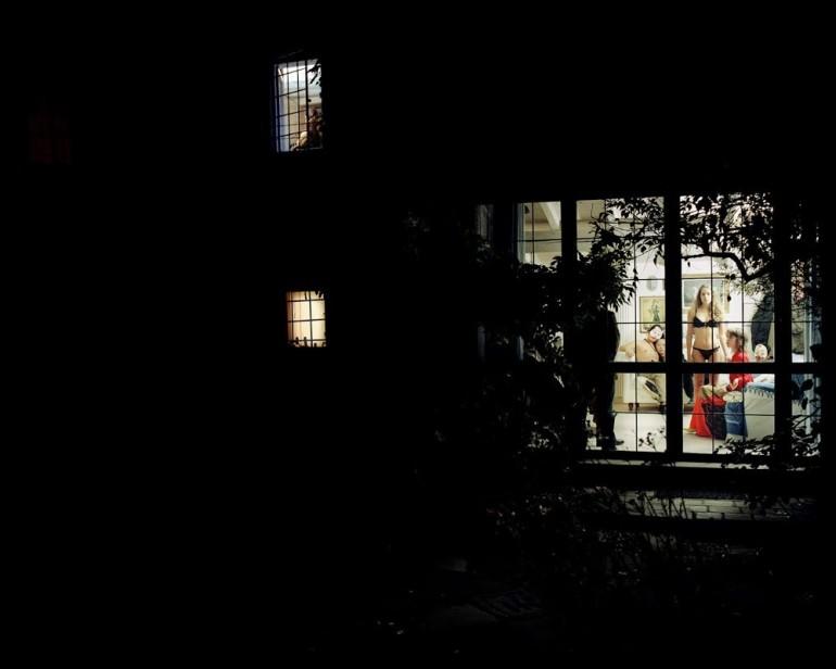 Through the Window by Giorgio Barrera