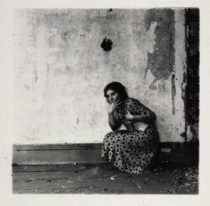 Vintage Black and White Poirtraits by Francesca Woodman