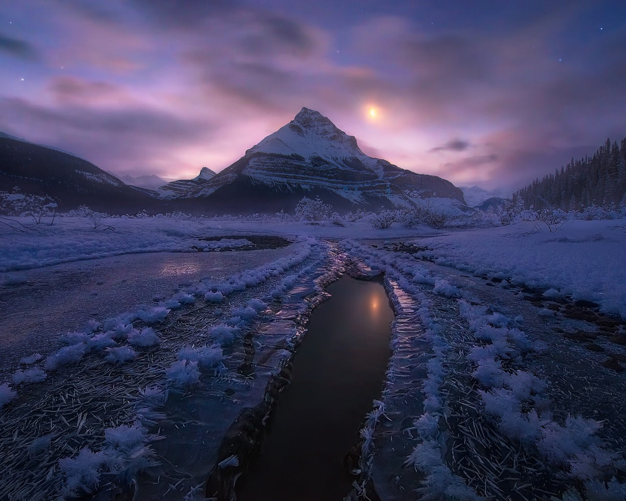 Amazing Snowy Mountain Landscape – Photography Wallpapers ...