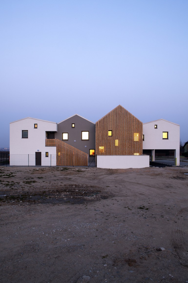 Architekti.sk – designed a Kindergarten over the vineyard