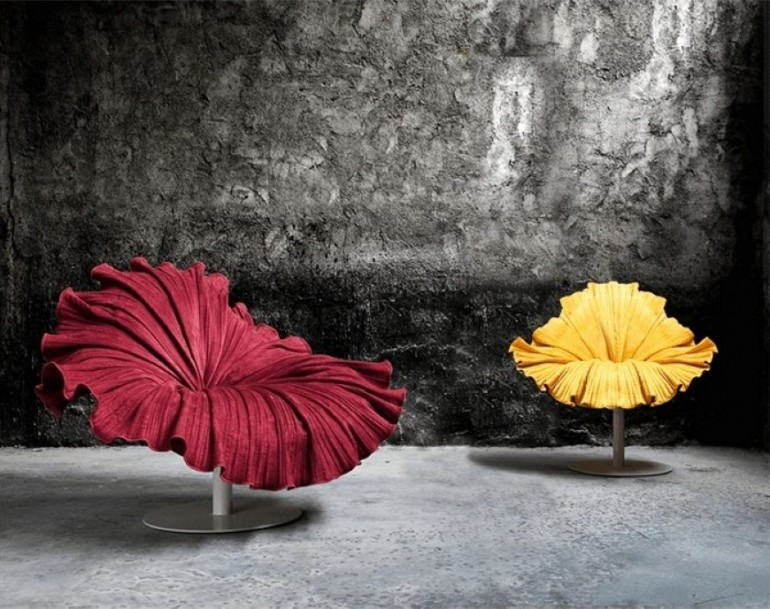 Bloom Chair inspired by a delicate blossom