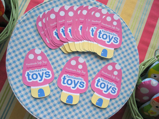 Fantastic Toys Business Card Inspiration