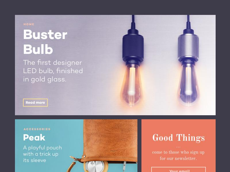 Design & Tech Magazine Template – PSD Repo