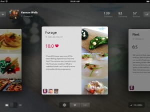 Foodie App – Grid View