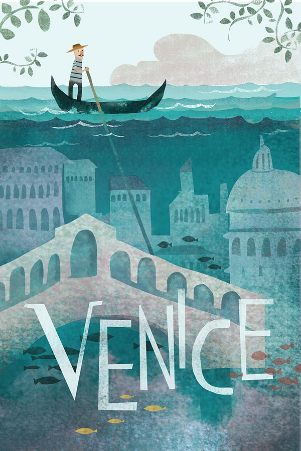 "Travel Poster ""VENICE"""