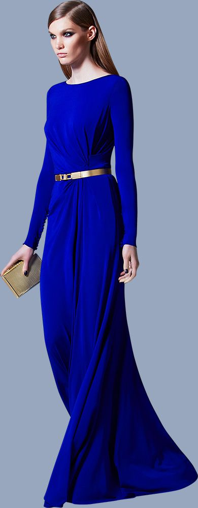 ELIE SAAB Ready-to-Wear Pre-Fall 2013 | Dresses | Pinterest