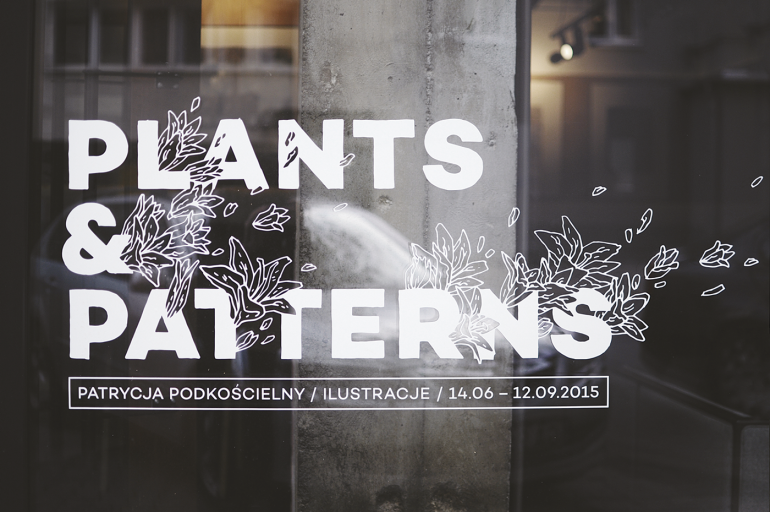 PLANTS & PATTERNS / PRESS ILLUSTRATION