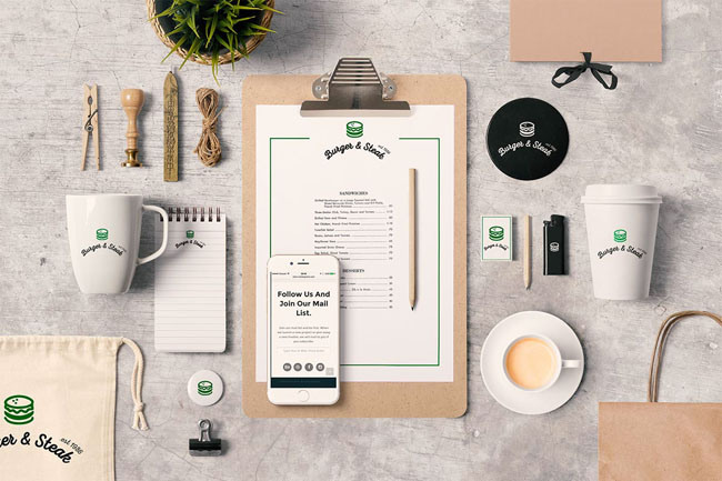 Free Photographic Branding Stationery MockUps