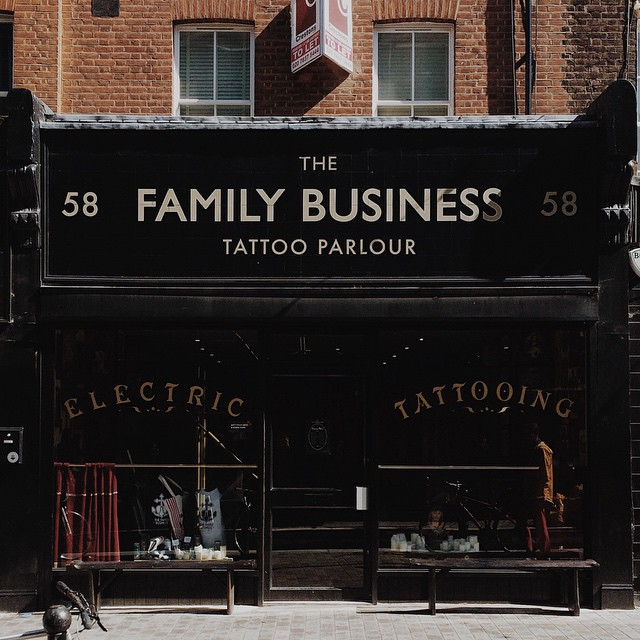 The Family Business Tattoo London