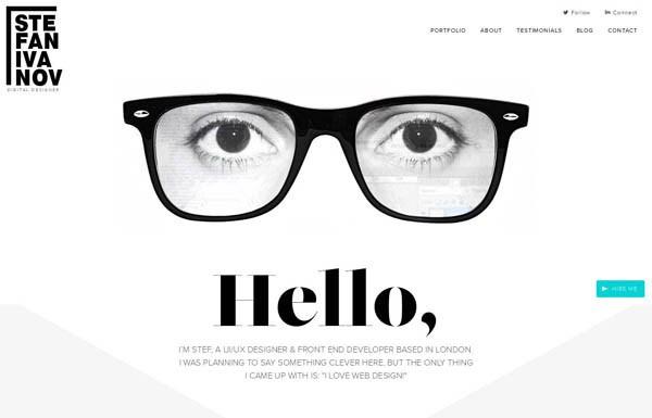 White Color Usage in Web Design