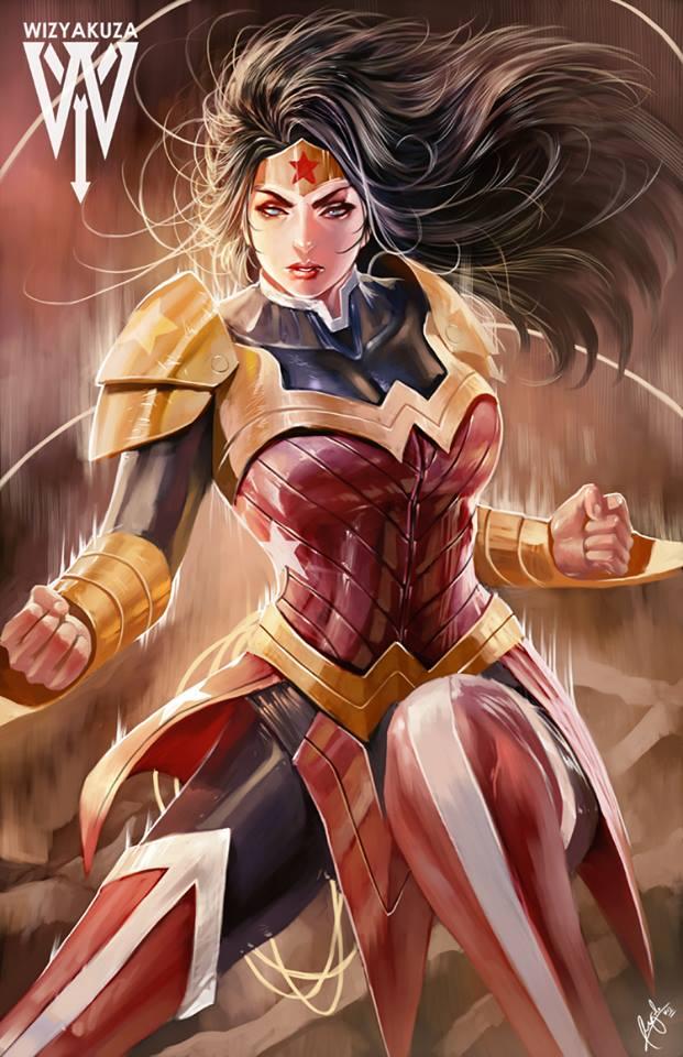 Wonder Woman by Ceasar Ian Muyuela