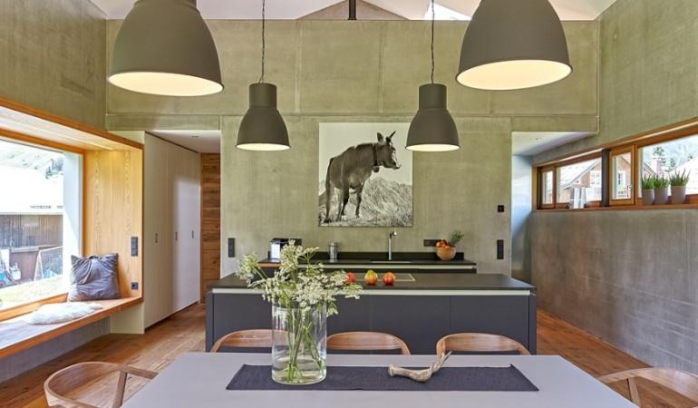 Holiday house Bergraum: modern interpretation of the traditional barn