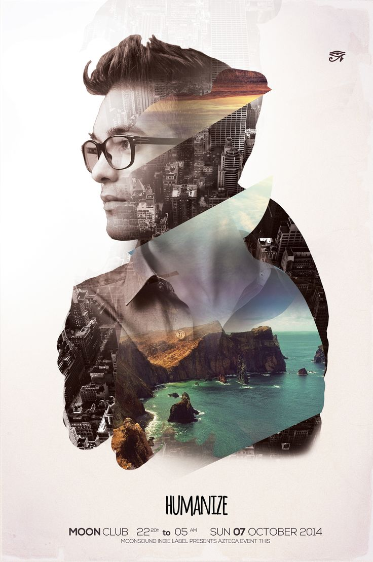 Humanize by Iulian Balinisteanu   Poster designs   Pinterest
