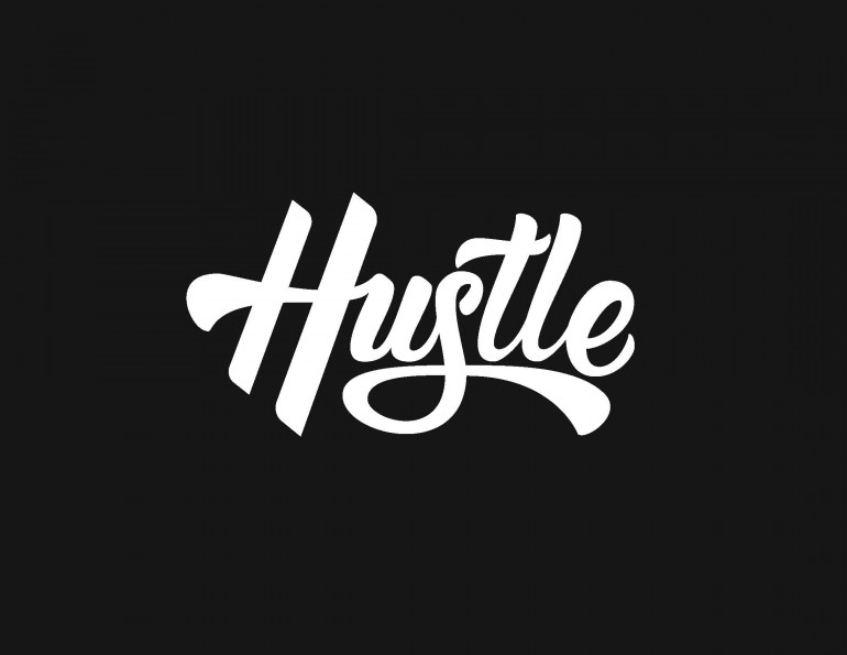 Hustle – A hand lettering project by Ross Miller