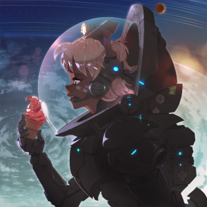 interstellar ice cream by rtil
