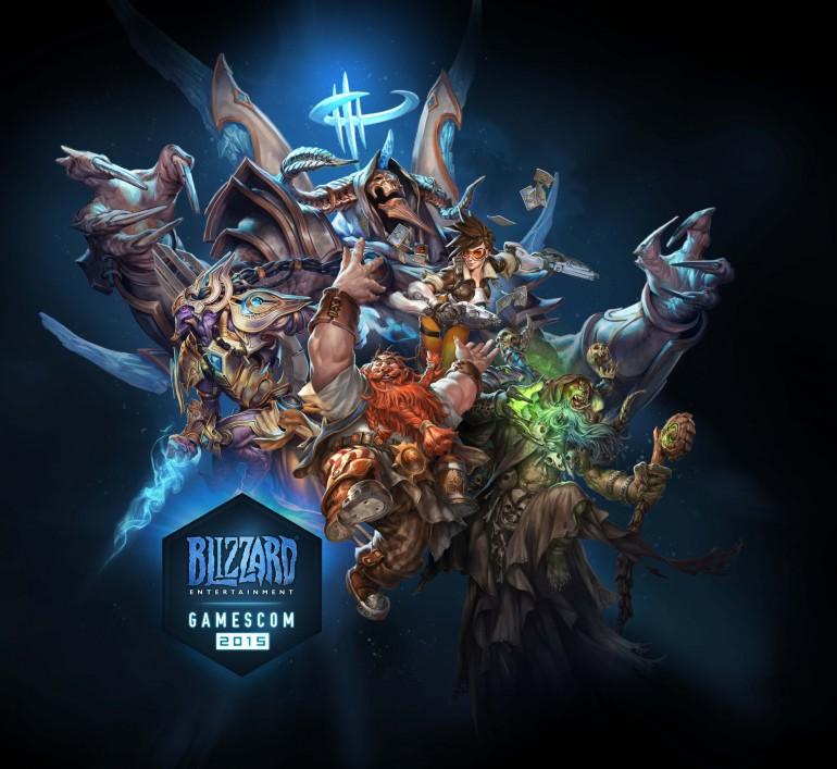 Blizzard gamescom2015 poster