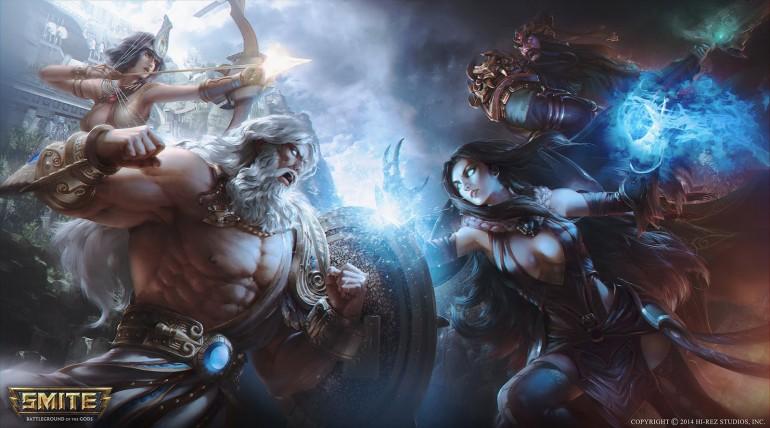 SMITE – 2 Vs 2 Gods Battle