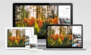 Lens : Free Responsive Photography HTML5 Template