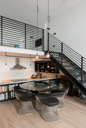 Loft apartments with an industrial factory feel – Northbourne, London