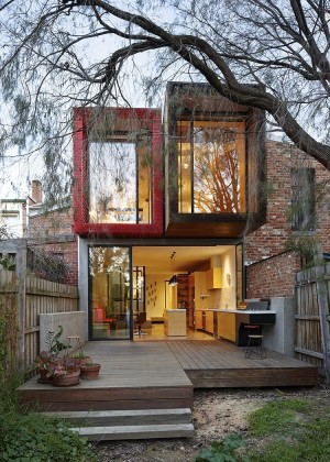 Moor Street House by Andrew Maynard Architects