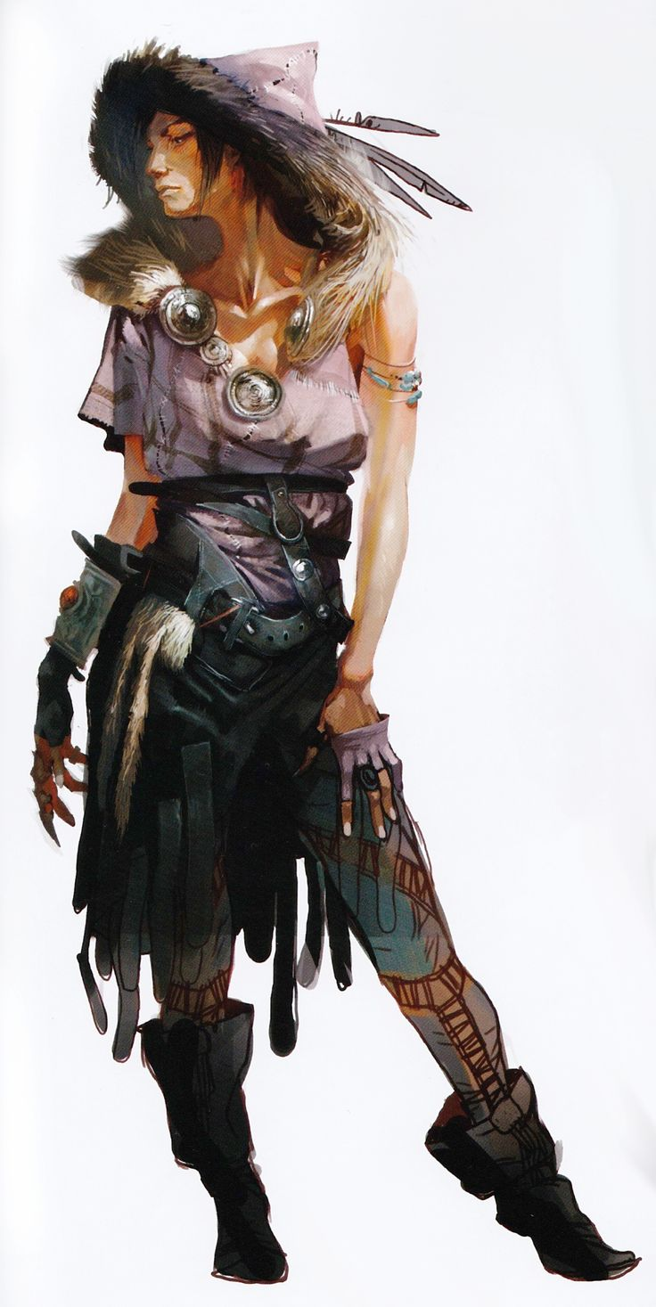 Morrigan Concept Art From Official The Of Dragon Age Inquisition Sorcerer