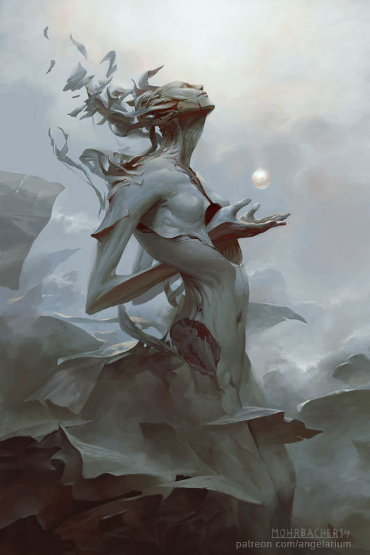 Binah by Peter Mohrbacher